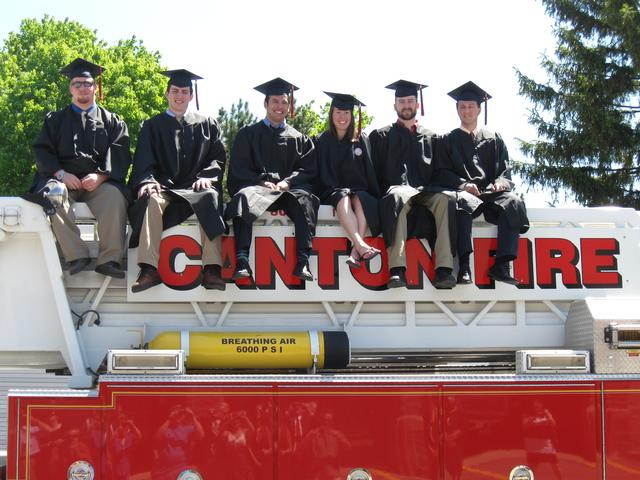 (Left to Right) William Kahn, Brendan Kiniry, Brian Brownell, Caroline Webster, Matt Carpenter, Chris Lundberg