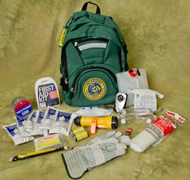 Citizen Preparedness Starter Kit, containing emergency supplies as the start of their own emergency preparedness kit.This free two-hour training session, conducted by New York National Guard troops, is open to the public and all are welcome to attend.